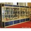 精品展示架,钛合金展柜,柜台制作