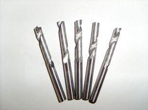 双刃螺旋下切刀(硬质合金)