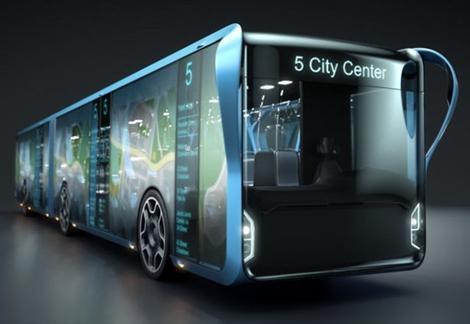 LCD屏幕公交车: 未来最吸金的移动广告牌