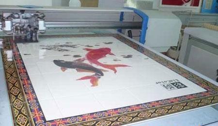 UV平板喷绘机如何打印出浮雕效果