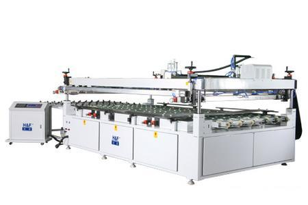 宏富全自动玻璃平面丝印机 速度更快更稳定