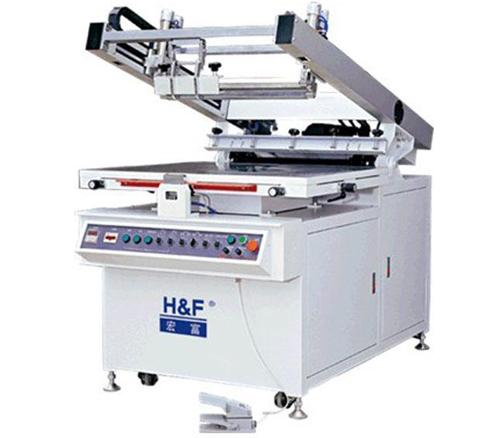 宏富斜臂式精密平面丝网印刷机