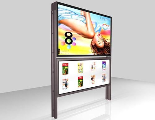 景观式广告灯箱作用独特