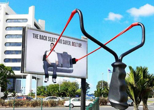 街头的创意 那些脑洞大开的户外广告