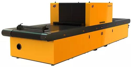 EFI快达平在工业展上首次展出新推出的适用于陶瓷大板生产的P4