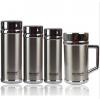 宁夏银川定制不锈钢保温杯、双层玻璃杯礼品