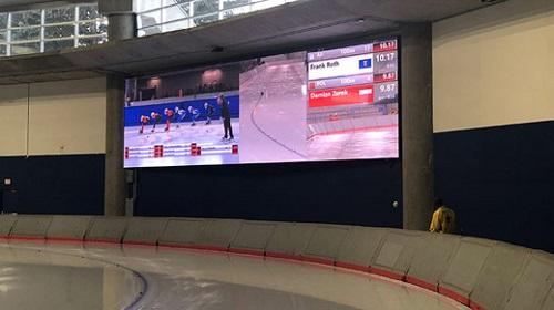 达科LED屏助力卡里加尔大学速滑馆