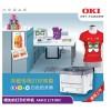 白色碳粉打印机,个性T恤定制打印机okic711wt 惠佰供