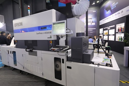 爱普生携全新数字标签印刷机亮相PRINT CHINA 2019