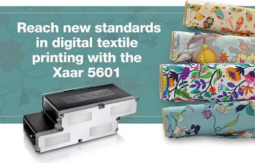 XAAR 5601打印头亮相ITMA 2019