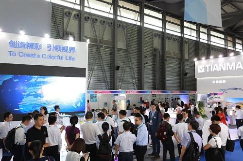 显示黑科技点亮魔都 DISPLAY CHINA 2019六月硬核开展