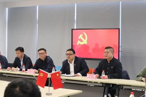 余杭区领导莅临联盟加速其器指导工作及会议