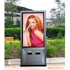 供应垃圾箱灯箱 广告垃圾箱 垃圾箱滚动灯箱
