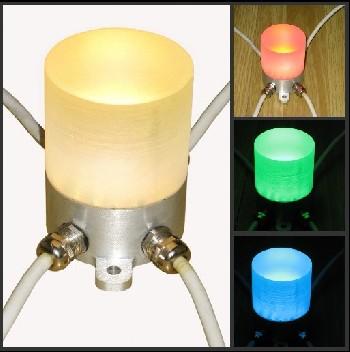 LED全彩数码点光源 LED水晶点光源 LED像素灯高清图片